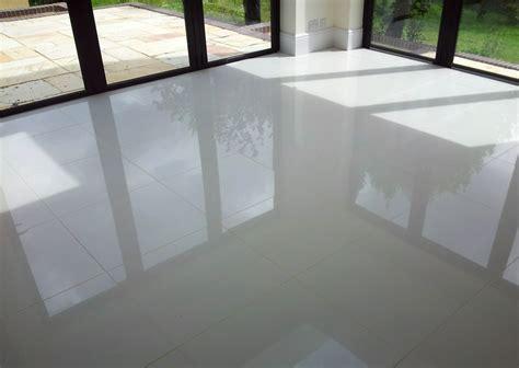 Large Grey Gloss Floor Tiles  Tiles Flooring