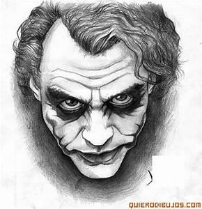 dibujos de joker dibujos