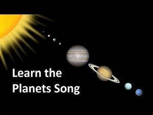 Learn the Planets Song - YouTube