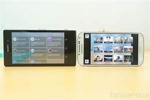 Phonews: Sony Xperia Z1 vs Samsung Galaxy S4