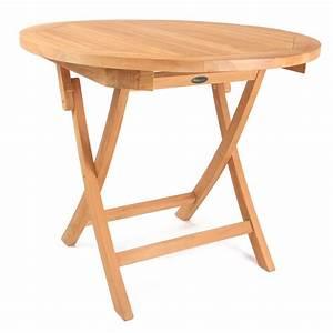 Tischplatte Rund 90 Cm : roggemann tl8113 teak tisch rund 90 cm klappbar holztisch gartentisch klapptisch ebay ~ Bigdaddyawards.com Haus und Dekorationen