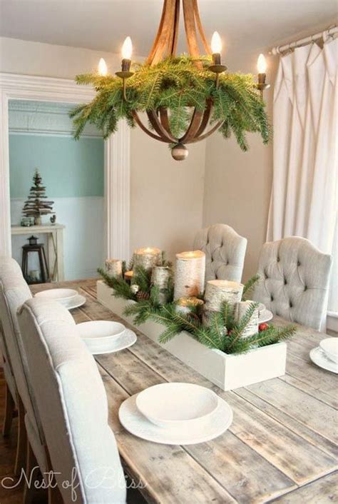 christmas table decorations images  pinterest