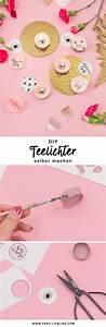 Geschenk Für Schwester Selber Machen : diy teelichter mit versteckter botschaft selber machen crafternoon ideas pinterest ~ Buech-reservation.com Haus und Dekorationen