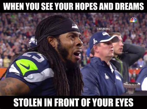 Richard Sherman Memes - 5 funniest memes from super bowl 49