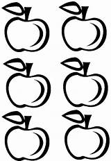 Apple Printable Template Outline Printables Crown Coloring Pattern Clipart Apples Templates Clip Patterns Pages Printablee Activities Clipartbest Teacher Via Letter sketch template
