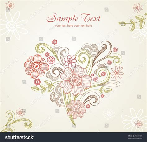 wedding card  elements separately  stock vector