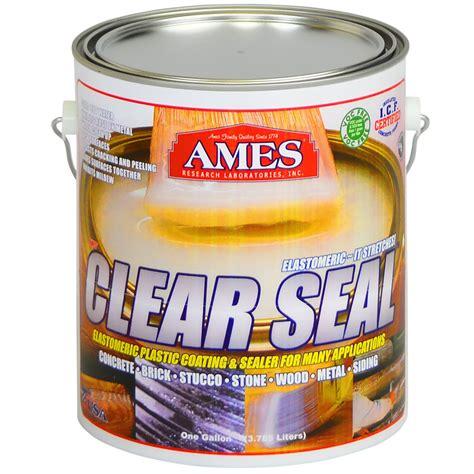 5 gallon buckets clear seal is a semi clear liquid plastic sealant for