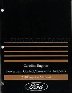 2010 Ford Econoline Van And Club Wagon Wiring Diagram Manual Original