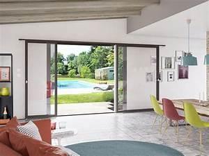 Baie Vitrée Pas Cher : baie vitr e coulissante 3 vantaux orientsouk ~ Mglfilm.com Idées de Décoration
