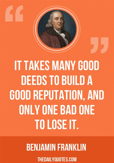 famous quotes  reputation quotesgram