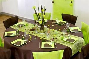 Deco de table for Deco cuisine pour grande table ronde en bois
