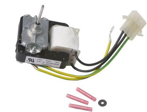 kenmore refrigerator parts fan motor frigidaire kelvinator sears kenmore gibson