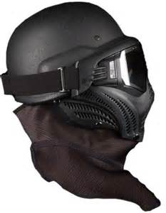 Paintball Mask and Helmet