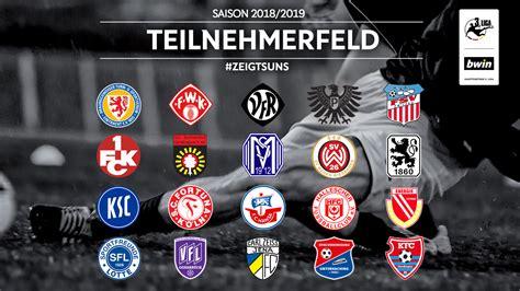 Liga, with an overview of fixtures, tables, dates, squads, market values, statistics and history. Teilnehmerfeld der 3. Liga für die Saison 2018/2019 offiziell :: DFB - Deutscher Fußball-Bund e.V.
