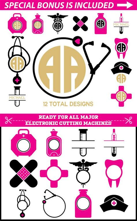 Anchor Monogram Clip Art