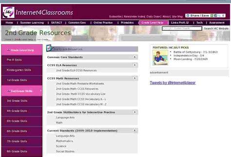 grade resources  internet  classrooms
