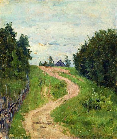 Trail - Isaac Levitan - WikiArt.org - encyclopedia of ...
