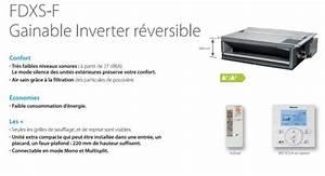 Clim Reversible Gainable : gainable daikin inverter r versible art et clim ~ Edinachiropracticcenter.com Idées de Décoration