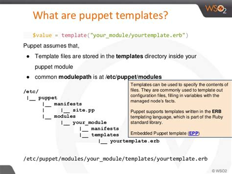Puppet Erb Template by Puppet Start Guide