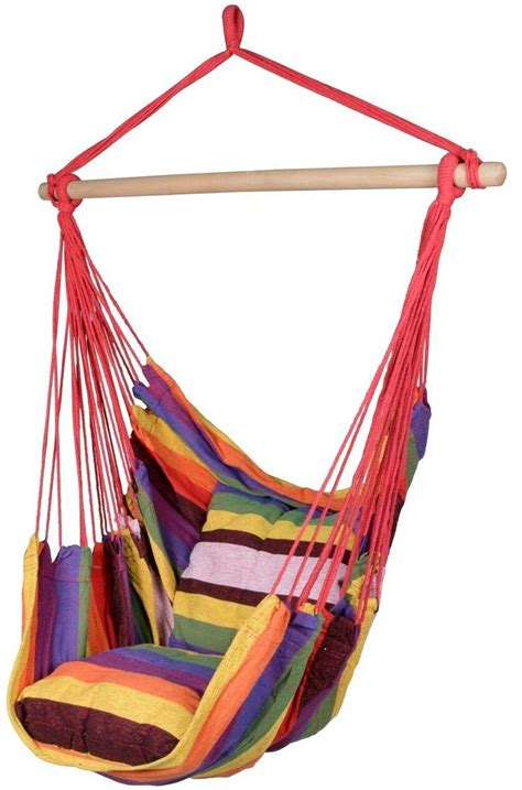 Outdoor Hammock Swing Chair by Deluxe Hanging Rope Chair Outdoor Porch Swing Yard Tree