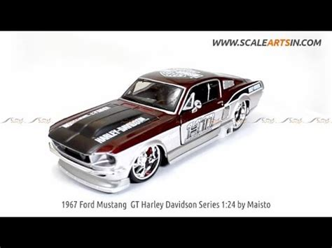 1967 ford mustang gt harley davidson 1 24 by maisto