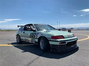 Honda Crx Hf Scca Stl Spec Race Car Track Car Time Attack