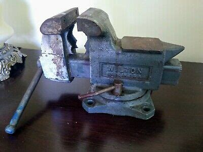 wilton vise   swivel anvil machinist bench vice
