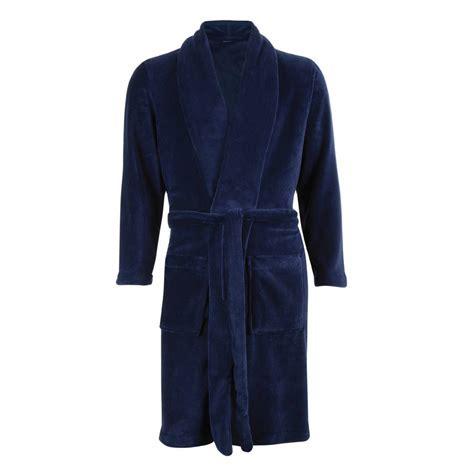 robe de chambre hommes robe de chambre polaire eminence bleu marine rue des hommes