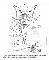 hd wallpapers coloring book angels pages - Coloring Book Angels