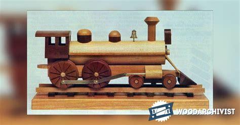 wooden locomotive plans woodarchivist