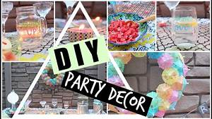 Pinterest Decoration : diy pinterest inspired summer party decor youtube ~ Melissatoandfro.com Idées de Décoration