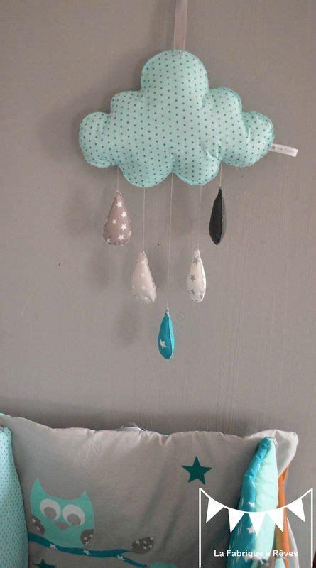 diy déco chambre bébé mobiles and turquoise on