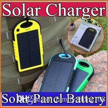 solar akku ladegerät gro 223 handel 5000mah solar ladeger 228 t und akku solar panel