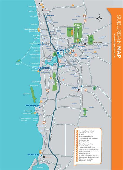 map  perth australia suburbs twitterleesclub