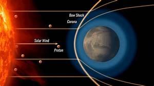 NASA's MAVEN Spacecraft Finds That 'Stolen' Electrons ...