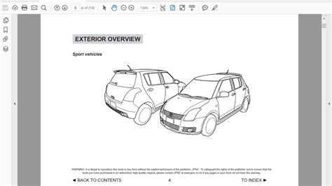 free car repair manuals 1992 suzuki swift security system suzuki swift owners manual in english youtube