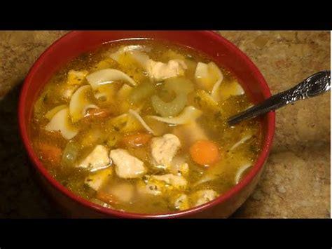 chicken soup recipe from scratch chicken noodle soup recipe homemade chicken noodle soup from scratch youtube