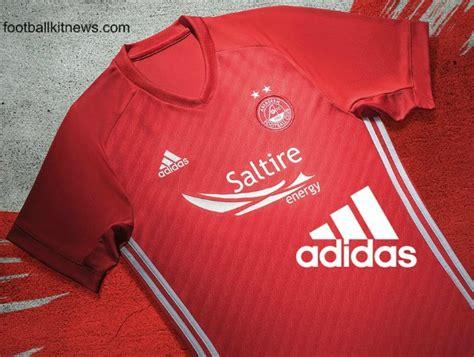 New Aberdeen Strip 17-18 | Adidas Dons Home Kit 2017-2018 ...