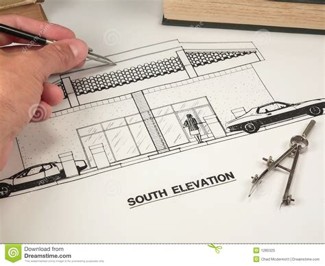 Architectural Design & Tools Stock Image  Image Of