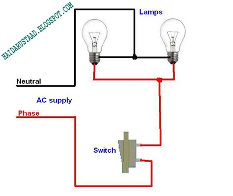 120v Electrical Light Wiring Diagram by Light Switch 120v Circuit Wiring Diagram Detailed