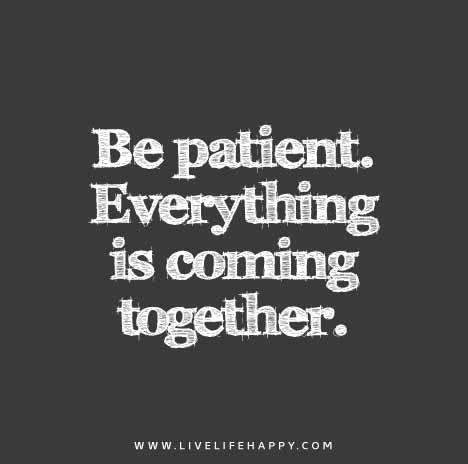 patient   coming