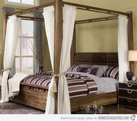 how to decorate a canopy bed 15 dreamy and draped canopy beds home