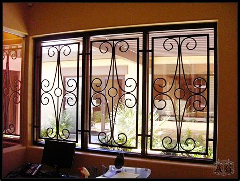 window security bars wrought iron window protection indicates newest