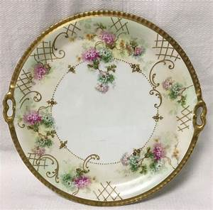 Buy Online  View Images And See Past Prices For Limoges France Hand Painted Porcelain Tray