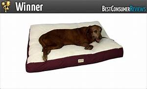 2017 best dog beds reviews top rated dog beds With best rated orthopedic dog beds
