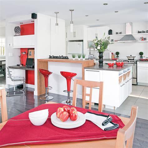 pratique cuisine table de cuisine pratique astuce rangement malin pour une