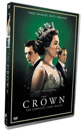 crown  complete season  dvd box set  disc
