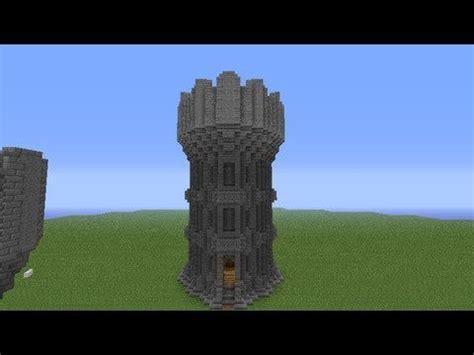 minecraft castle tower tutorial minecraft castle castle tower minecraft