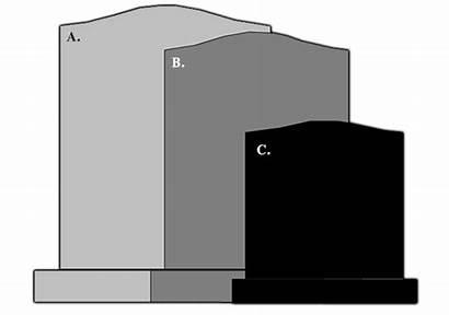 Scale Headstone Sizes Guide Head