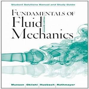 Fundamentals Of Fluid Mechanics 7th Edition By Bruce R